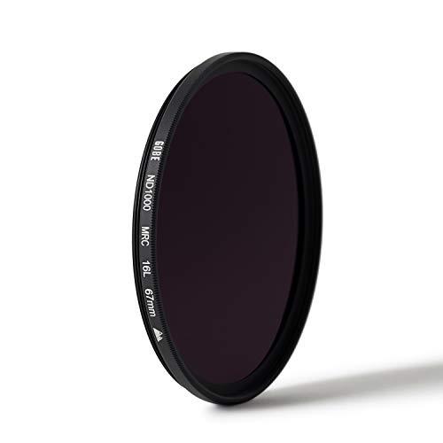 2Peak Filtro para Objetivo ND 62 mm ND2 1 Pasos Gobe
