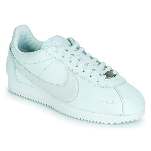 Nike Classic Cortez Premium W Sneaker Damen Grau - 36 - Sneaker Low