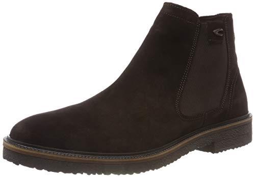 camel active Herren Trade 13 Chelsea Boots, Braun (Mocca 1), 47 EU (12 UK)