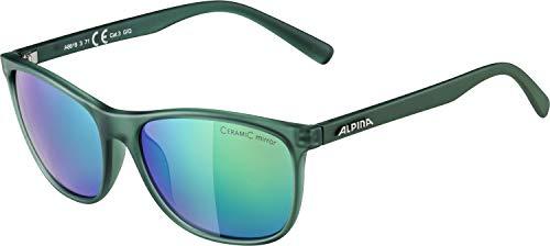 ALPINA Erwachsene Jaida Sonnenbrille, Green transparent matt, One Size