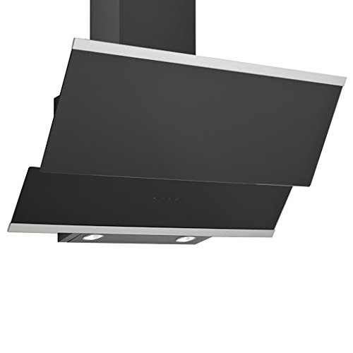 URBAN - HOTTE DECORATIVE MURALE M208-L90/N- 550m3/h - Classe C- Verre Noir