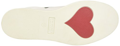 TWIN-SET Damen Cs7pfs Niedrige Sneaker Multicolore (Colore Unico)