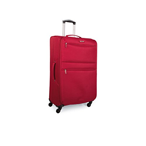 Trolley Grande Eva/Poliéster - Rojo