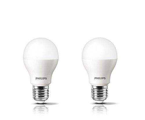 Philips Base E27 4-Watt LED Bulb (Cool Day Light and Pack of 2) (Cool Day Light)