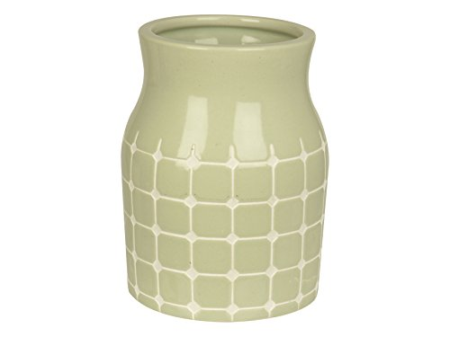 PT Living mittelharten Fliesen, aus Keramik, Jaded Grayed Vase, grün