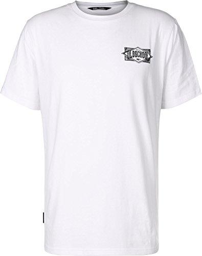 UNFAIR ATHLETICS Herren Oberteile/T-Shirt Oldschool White