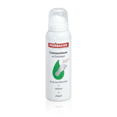 PEDIBAEHR - Cremeschaum mit Clotrimazol 10% Urea, 125 ml