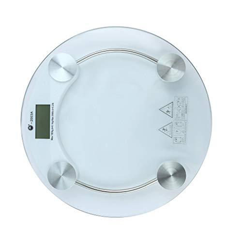 Elektronische Gesundheit Skala (Lightleopard Menschliche Gesundheit Skala Transparente elektronische Waage Genaue Waage 180kg)