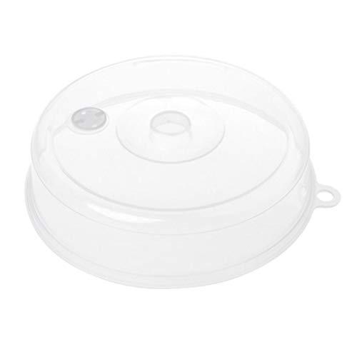 Mikrowelle Vent (Demino Mikrowelle Lebensmittel Abdeckplatte Belüftete Splatter-Schutz-freier Küche Lebensmittel Deckel Vent Oilproof PP Deckel)