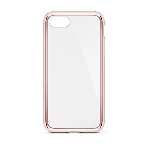 Belkin SheerForce Elite Schutzhülle (Polycarbonat, Sturzsicherheit, Anschlüsse frei zugänglich, geeignet für iPhone 8/7)roségold