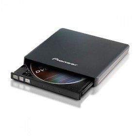 Pioneer DVR-XU01T 8X Externer Slim USB 2.0 DVDRW - Schwarz Dvr Cd