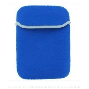 """King of Flash 7"""" Blue Soft Padded Neoprene Sleeve Case for Allwinner A13 Various Android Tablet PC"""