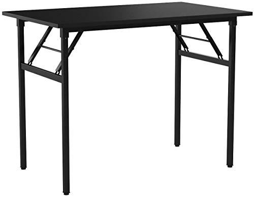 need tavoli pieghevole 100x60cm scrivanie studio tavoli ufficio postazioni di lavoro per computer nero ac5cb-100