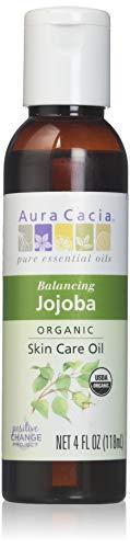 Aura Cacia Jojoba peau Huile de soin BIO 4 oz bouteille 190608
