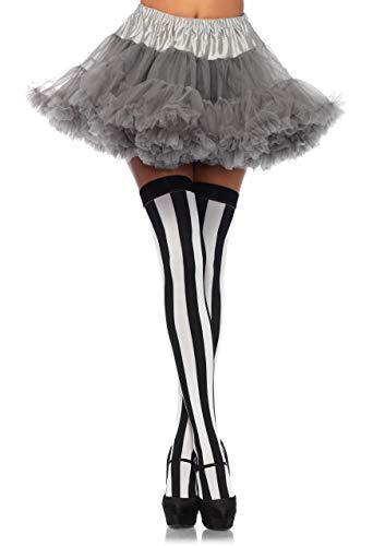 LEG AVENUE 8990 - Damen Petticoat best basic  Einheitsgröße (Grau) (Besten Paare Halloween Kostüme)