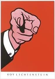 Roy Lichtenstein–Hey You. Impression d'art