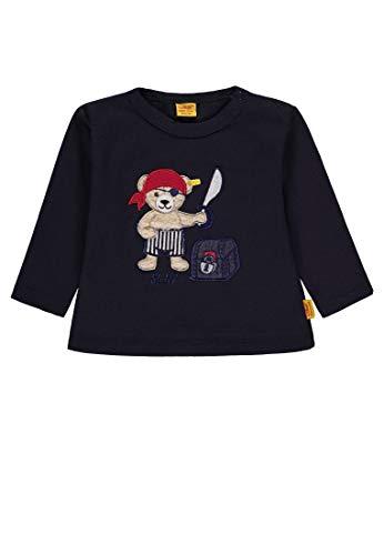 Steiff Baby-Jungen T-Shirt 1/1 Arm, Blau (Marine|Blue 3032) ()