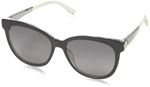 BOSS Hugo Damen 0849/S EU GAD Sonnenbrille, Schwarz (Blkcry Crystal/Grey Sf), 54