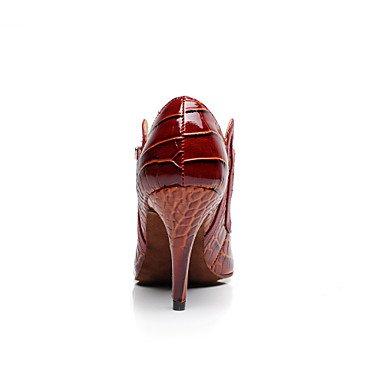 Scarpe da ballo - Non personalizzabile - Donna - Latinoamericano / Salsa - Tacco a rocchetto - Eco-pelle - Altro Orange
