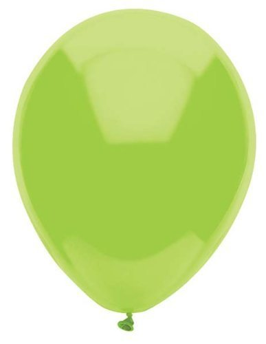 PartyMate Lime Green Balloons - 15 ct by American Balloon Company (Balloons Lime Green)