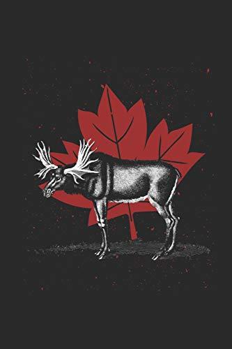 Die Maple Leaf Gardens (Canada - Moose Maple Leaf: Dotted Bullet Grid Notebook - Journal for Canada Flag Canadian Pride)