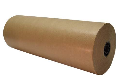 3 x KRAFT PAPER FULL ROLLS - 600MM x 225M Strong Brown Imitation Kraft Wrapping Packing Void Fill Paper Rolls - (3 x ROLLS) FASTEST DELIVERY By Wellpack Europe