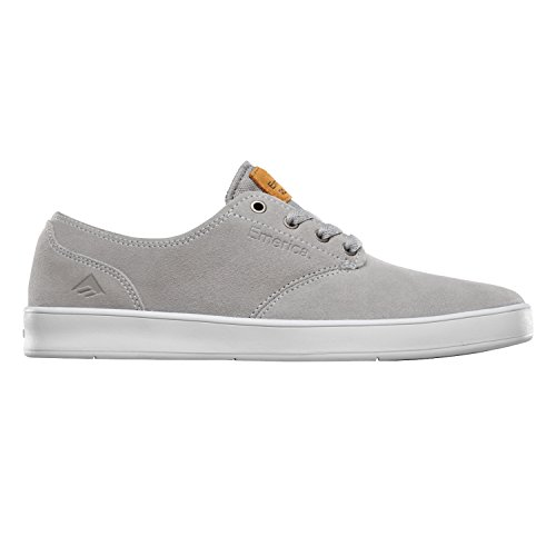 Emerica Laced By Leo Romero-M, Baskets mode homme Grey/White/Gum