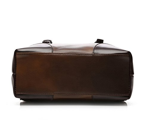 LAIDAYE Herrenmode Geschäfts- Und Freizeitreisen Schultern Computer Rucksack Schultertasche Rucksack Reisetasche Brown