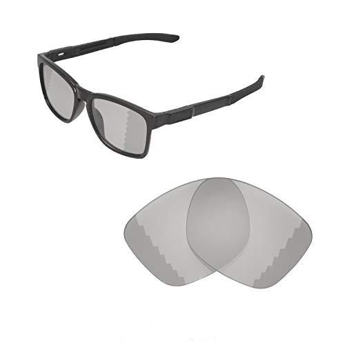 Walleva Ersatzgläser für Oakley Catalyst Sonnenbrillen - Verschiedene Optionen erhältlich, Unisex-Erwachsene, Transition/Photochromic - Polarized, Einheitsgröße