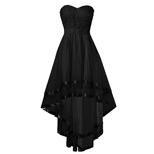 Vintage Vokuhila Kleid Kleider Sommerkleider Langarm Damen Elegant Sexy Hochzeit Flapper Party Gothic Gatsby Schickes Off Shoulder A Linien Swing Lockeres Abendkleid
