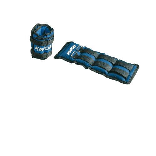 KWON - Muñequeras Tobilleras lastradas Azul Azul