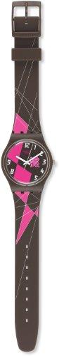 Swatch Mädchen-Armbanduhr Analog Plastik GZ266 - 2
