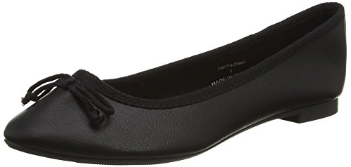 New Look Purist, Women's Ballet Flats, Black (Black), 6 UK (39 EU)