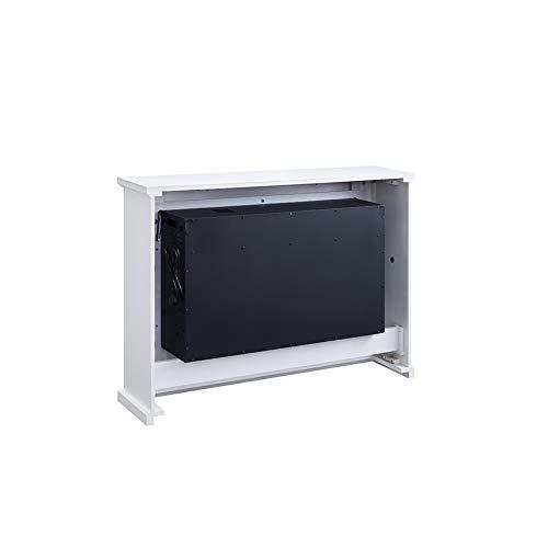 Richen Elektrokamin EF160B-MT160B Elektrischer Kamin (2000W, LED-Beleuchtung, 3-D Flammeneffekt, Fernbedienung) Weiß - 5
