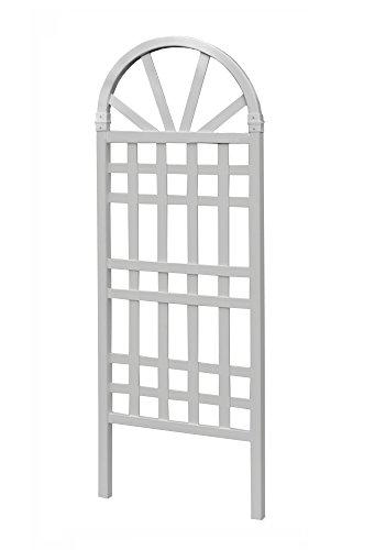 New England von va6820662.23X 4,5cm x 152,4cm Hamilton-Gitter–Weiß (1-) (New England Pergola)