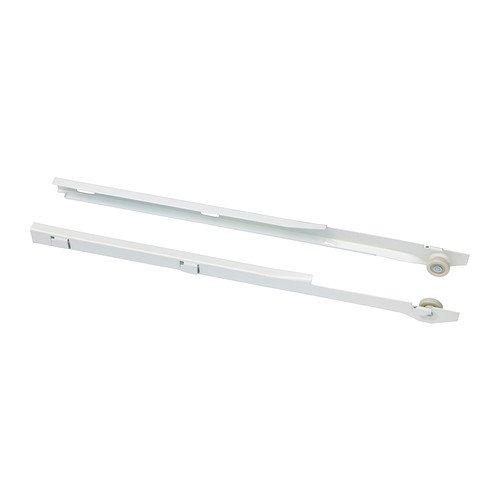 IKEA ALGOT-Pull-out-Schiene für Körbe, Weiß, 2 Stück -