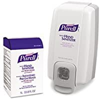 GOJ2156D1 - NXT SPACE SAVER Hand Sanitizer Dispenser and Refill by PURELL NXT 1000 ML BIB & NXT Dispenser