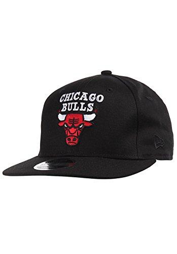 New Era NBA Classic 9Fifty Snapback Cap Chicago Bulls Schwarz, Size:S/M
