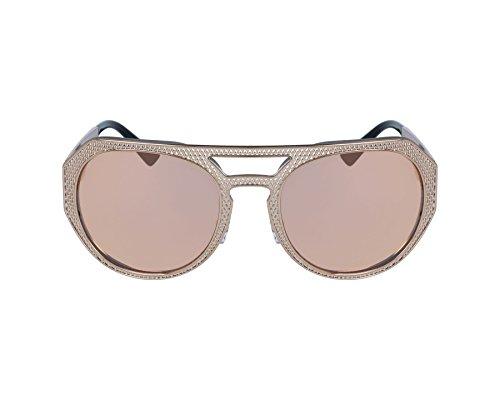 Versace Damen 0VE2175 13954Z 60 Sonnenbrille, (Pink Copper/Greyspecchiogoldpink)