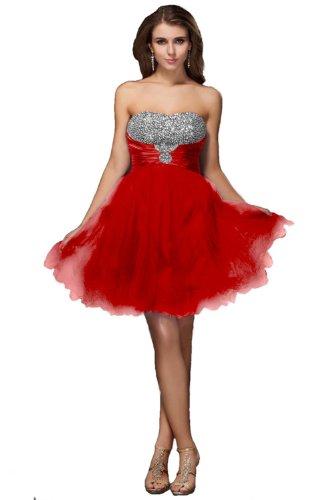 lemandy robe de soirée mousseline cristal longueur mi cuisse col en coeur comme la photo