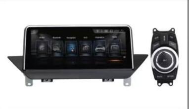 26 cm Android 4.44 Moniteur pour Voiture (Originaly sans écran) BMW X1 E84 2009 2010 2011 2012 2013 2014 2015 Voiture PC Stereo Radio Vedio Audio GPS Navi multimédia de l'interface de l'Autoradio