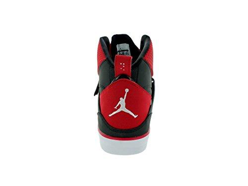 Nike Flight 45 Black Red Mens Trainers Black Red