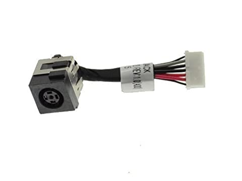 Generic New AC DC Power Jack Plug Socket Cable Harness for Dell Latitude E6320 Part Number:0G9PG3,