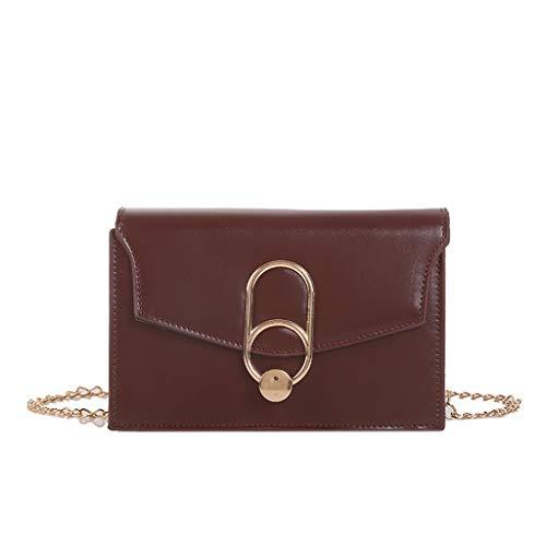 Mitlfuny handbemalte Ledertasche, Schultertasche, Geschenk, Handgefertigte Tasche,Frauen-Schal-wilde Kuriertasche Mode eine Schulter kleine quadratische Tasche