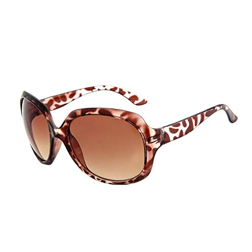 Lcxligang Herren Damen Vintage Retro Rose Big Frame Trendy Fashion Shades Sonnenbrillen - Geeignet für Outdoor-Aktivitäten (Color : A)