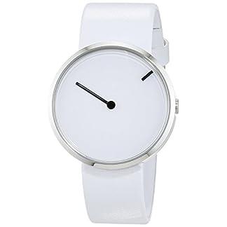 Jacob Jensen Reloj analógico para Unisex de Cuarzo con Correa en Piel 253
