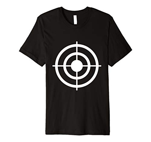 Funny Bullseye Papier Ziel Halloween-Kostüm T-Shirt