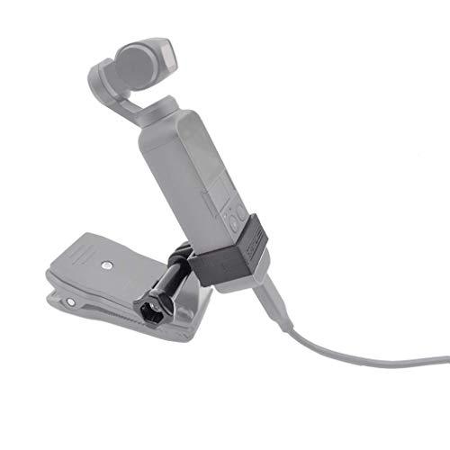 Preisvergleich Produktbild Igemy Erweiterung 1 / 4 Zoll Schraube Adapterhalterung für DJI Osmo Pocket Handheld Gimbal (Schwarz)