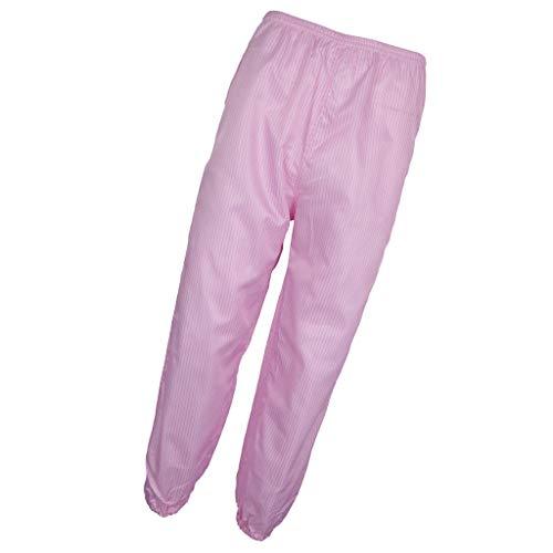 F Fityle Arbeitshose Schweißerhose Schweißerschutzhose Arbeitslatzhose Berufshose Arbeitskleidung Berufskleidung - Rosa