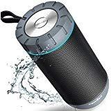 COMISO Wasserdicht Bluetooth Lautsprecher Kabellose Portabler 12W Lautsprecher Box mit...